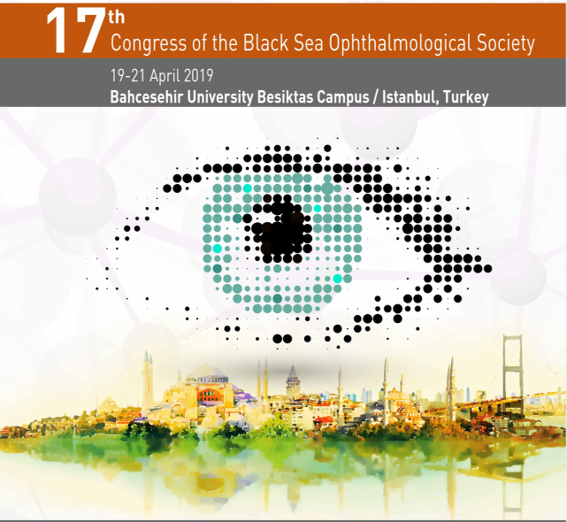 We are very happy and  honored to invite you to the 17th  Congress of the Black Sea Ophthalmological Society – Actualities in Ophthalmology. The event will take place between the 19-21 April 2019 Bahcesehir University Besiktas Campus / Istanbul, Turkey.